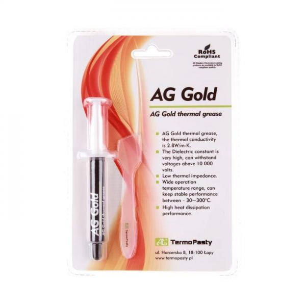 Termovodljiva pasta 3g AG gold