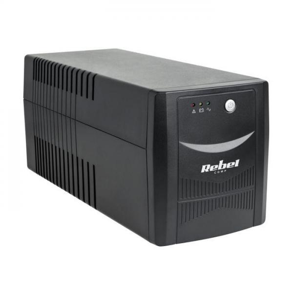 REBEL - UPS Micropower 1000 (offline, 1000VA / 600W, 230V, 50Hz)