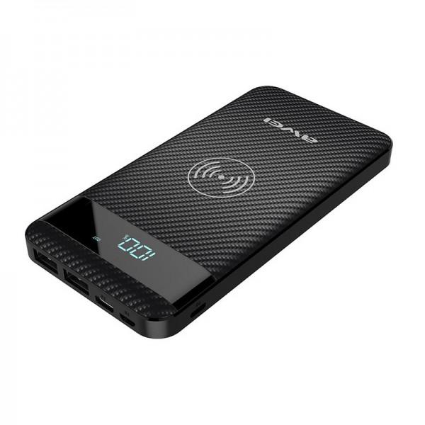 AWEI Power Bank - 2 x USB + WIRELESS PUNJENJE 10000 mAh P55K