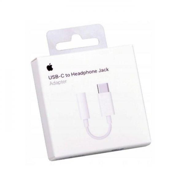 Original adapter Apple MU7E2ZM/A Tip C na 3,5 mm HF ulaz