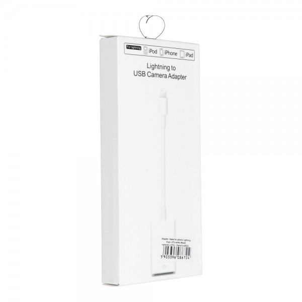 Adapter OTG USB-A na iPhone Lightning