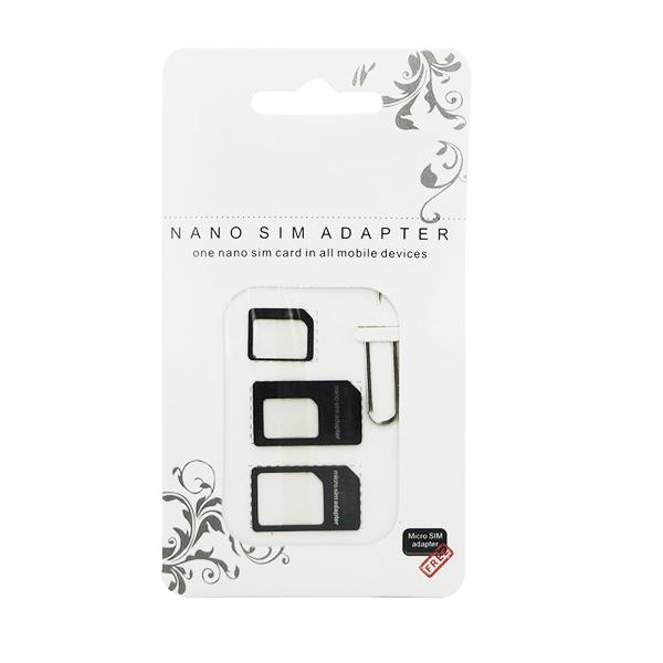 Adapter nano i micro SIM 3u1