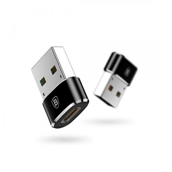 Baseus USB adapter za brzo punjenje USB na Type C ženski 5A (CAAOTG-01)
