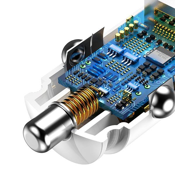 Baseus auto punjač 2xUSB 30W QC 3.0 5A (CCALL-YD02) TT-BASEUS-AP-CCALL-YD02 Mobilab, servis i prodaja mobitela, tableta i računala