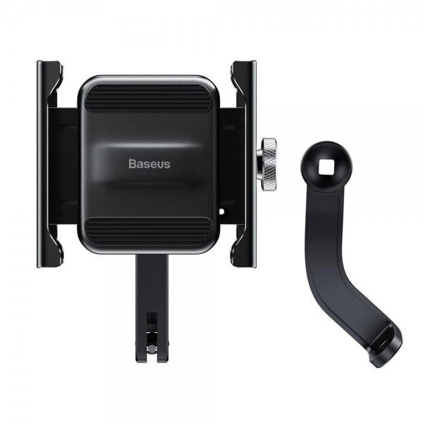 Baseus bicikl/motocikl držač mobitela (CRJBZ-0S) - SREBRNI
