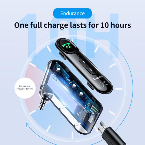 Baseus Bluetooth Audio Prijamnik - AUX adapter  (WXQY-01) BS-ADAPTER-WXQY-01 Mobilab, servis i prodaja mobitela, tableta i računala