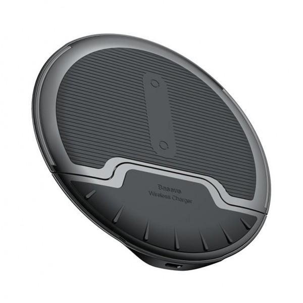 Bežični punjač Baseus sklopivi 10W + micro USB kabel (WXZD-01) crne boje