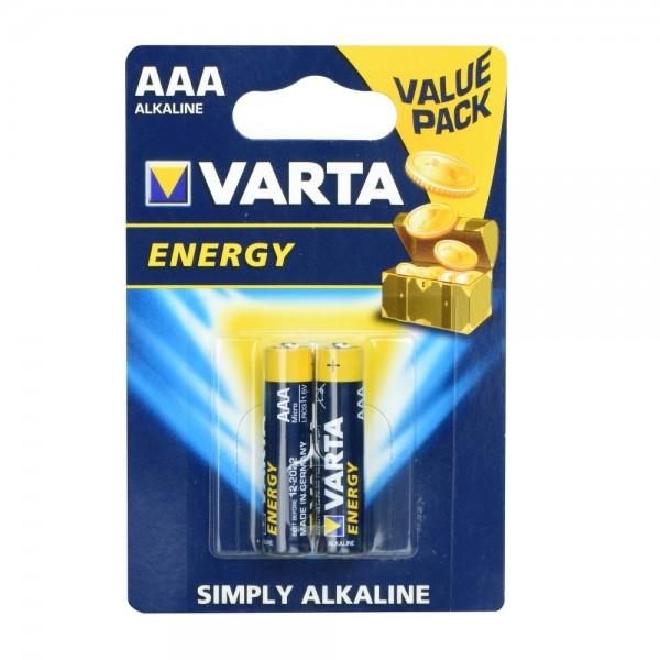 VARTA ALKALNA BATERIJA R3 (AAA) 2 KOM Energy