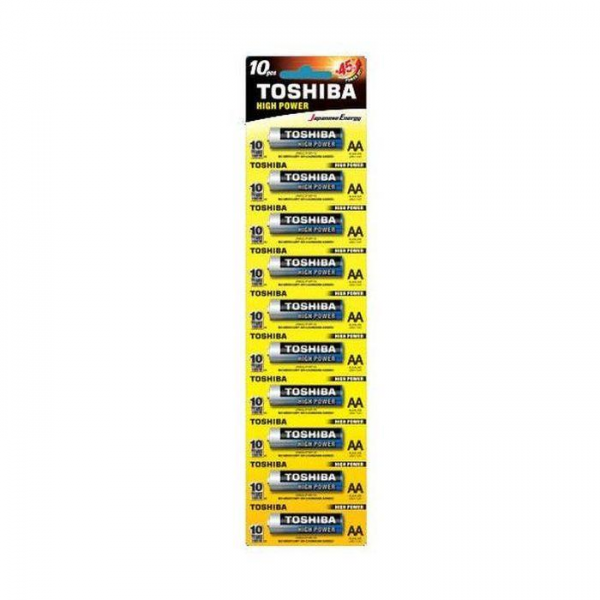 TOSHIBA Alkalne baterije AA 1.5V LR6 BP- 1X10 KOMADA