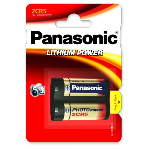 Baterija Panasonic LITIJEVA 6V FOTO 2CR5 - 1 kom