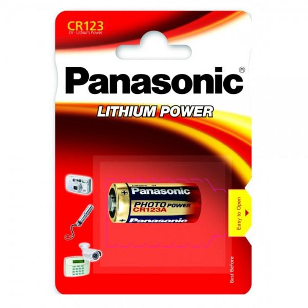 Baterija Panasonic LITIJEVA FOTO 3V CR123A - 1 kom