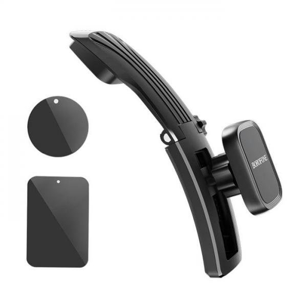 BOROFONE Auto držač magnetni BH17 crni BH17 Mobilab, servis i prodaja mobitela, tableta i računala