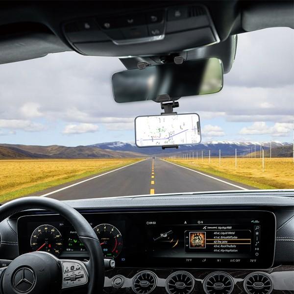 BOROFONE Auto držač za retrovizor BH49 crni TT-AD-BH49 Mobilab, servis i prodaja mobitela, tableta i računala