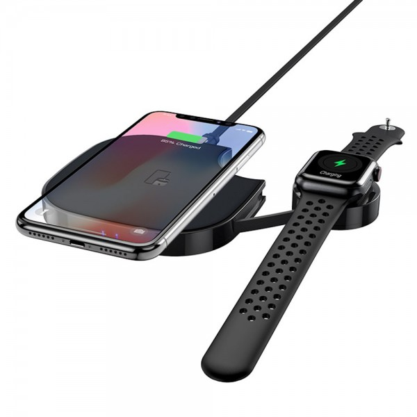 HOCO Bežični brzi punjač 2 u 1 - 10W S5 TT-HC-S5 Mobilab, servis i prodaja mobitela, tableta i računala