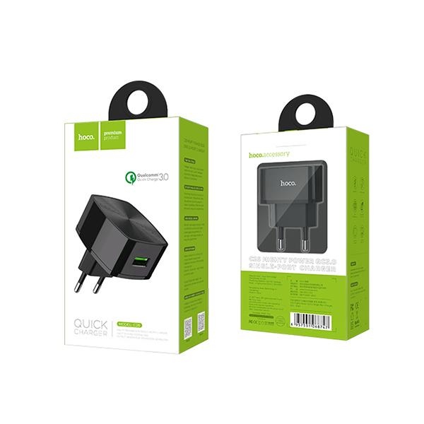 HOCO adapter/punjač - Mighty power 1xUSB QC 3.0 C26 HC- C26 Mobilab, servis i prodaja mobitela, tableta i računala