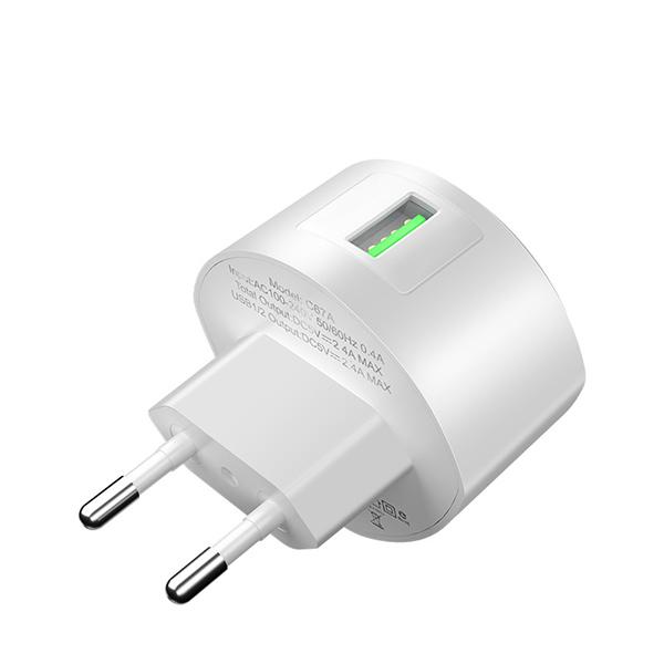 HOCO adapter/punjač - 1x USB 18W / QC 3.0  C68A TT-HC-C68A Mobilab, servis i prodaja mobitela, tableta i računala