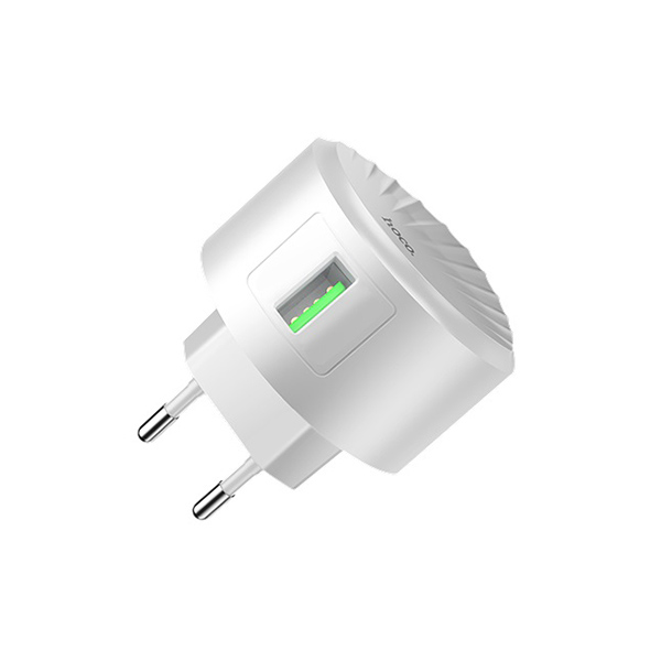 HOCO adapter/punjač - 1x USB 18W / QC 3.0  C68A