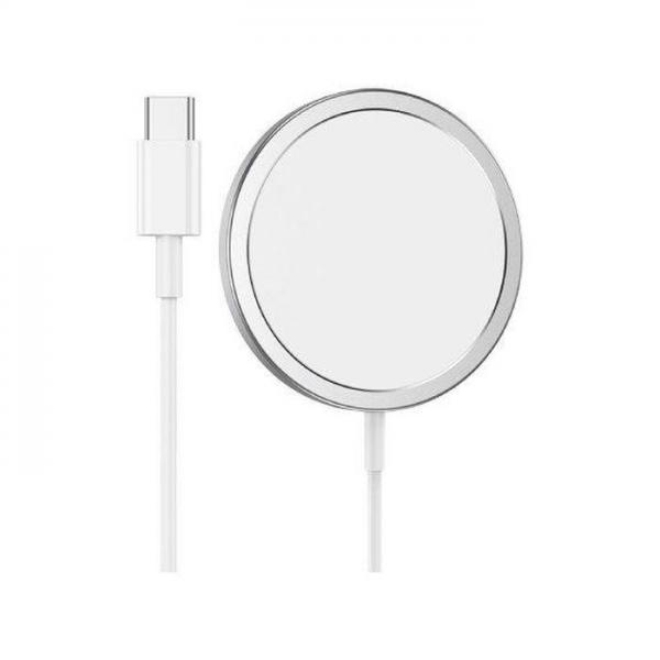HOCO Magnetni Wireless brzi punjač Pro Original series CW30 Pro srebrni