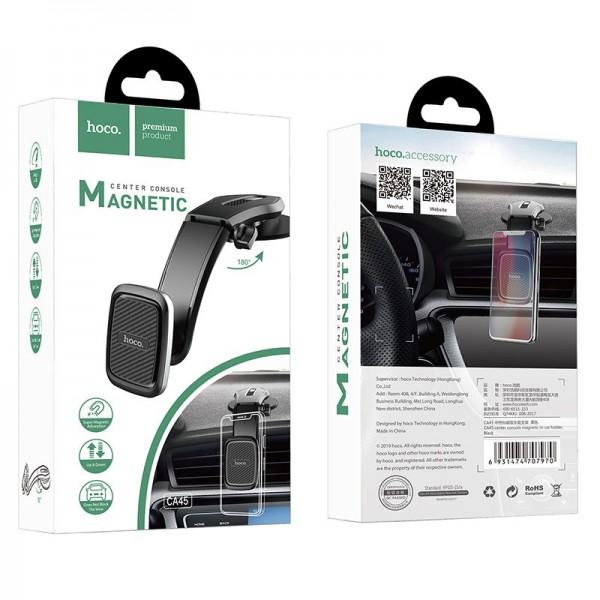 Hoco Magnetski auto držač mobitela C45A Crni C45a Mobilab, servis i prodaja mobitela, tableta i računala
