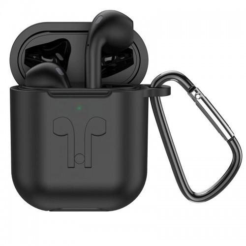 Hoco Bluetooth Slušalice - ES32 Plus Original TWS Black + black silicone case