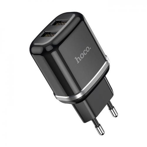 HOCO adapter/punjač - 12W (2.4A) 2x USB N4