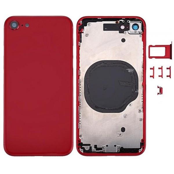 Stražnje kućište iPhone 8 Crveno