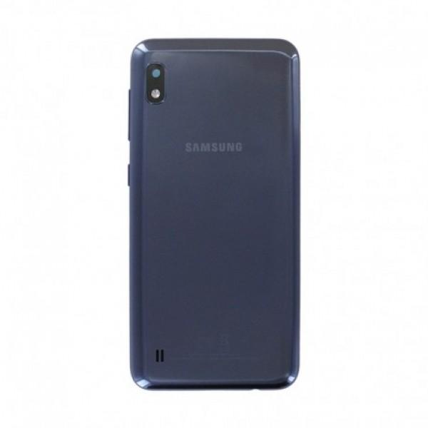 Poklopac baterije Samsung A105,A10 + lens kamere crni Original GH82-20232A