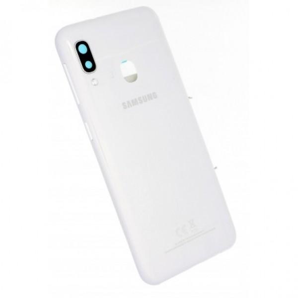 Poklopac baterije Samsung A202,A20e + lens kamere bijeli original