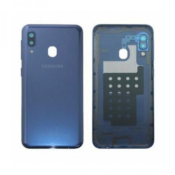 Poklopac baterije Samsung A202,A20e + lens kamere plavi original GH82-20125C