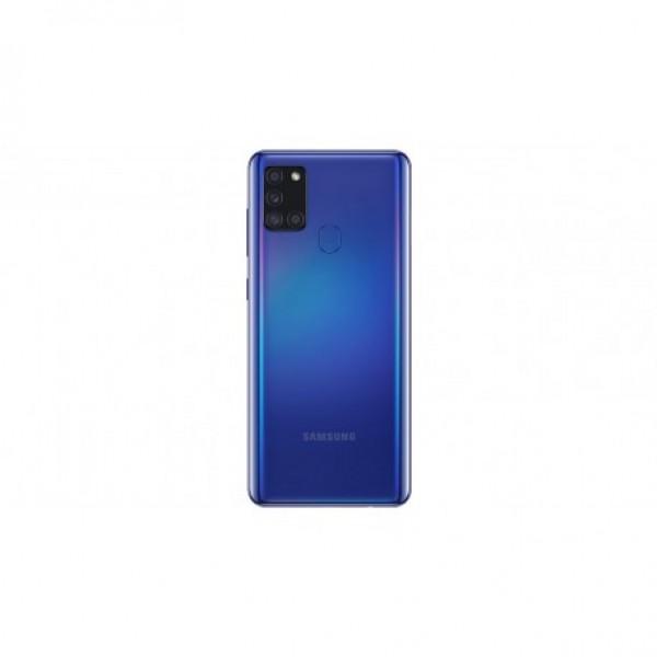 Poklopac baterije Samsung A217,A21S + lens kamere plavi original GH82-22780C