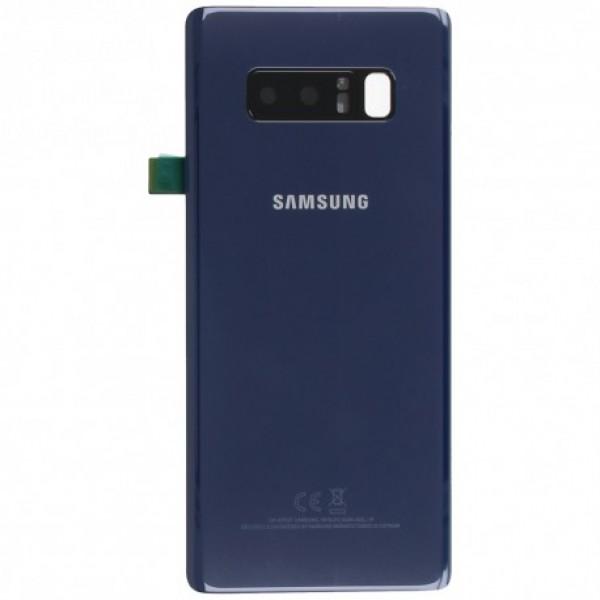 Poklopac baterije Samsung NOTE 8 / N950 + lens kamere plavi 1.klasa
