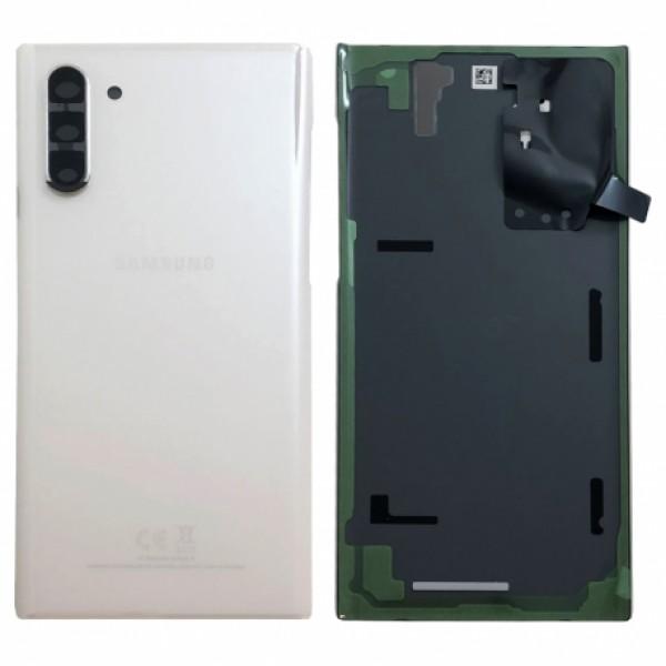 Poklopac baterije Samsung NOTE 10 / N970 + lens kamere bijeli (Aura White) 1.klasa