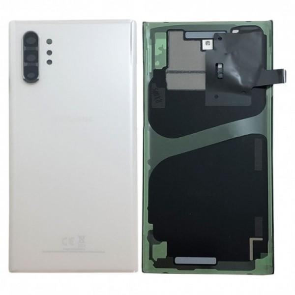 Poklopac baterije Samsung NOTE 10 PLUS / N975 + lens kamere bijeli (Aura White) 1.klasa