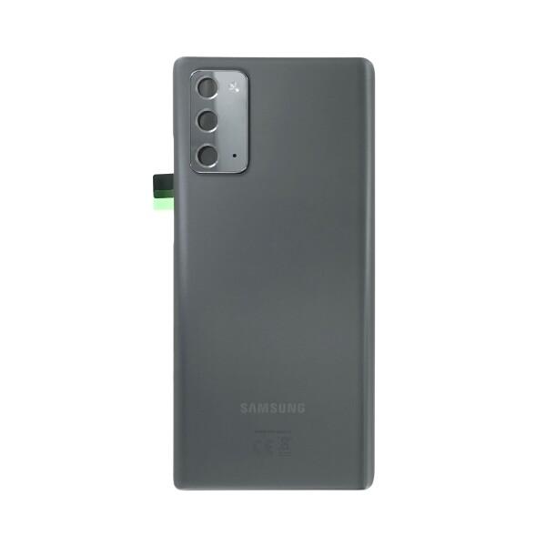 Poklopac baterije Samsung NOTE 20 / N980 + lens kamere sivi (Mystic Gray) 1.klasa