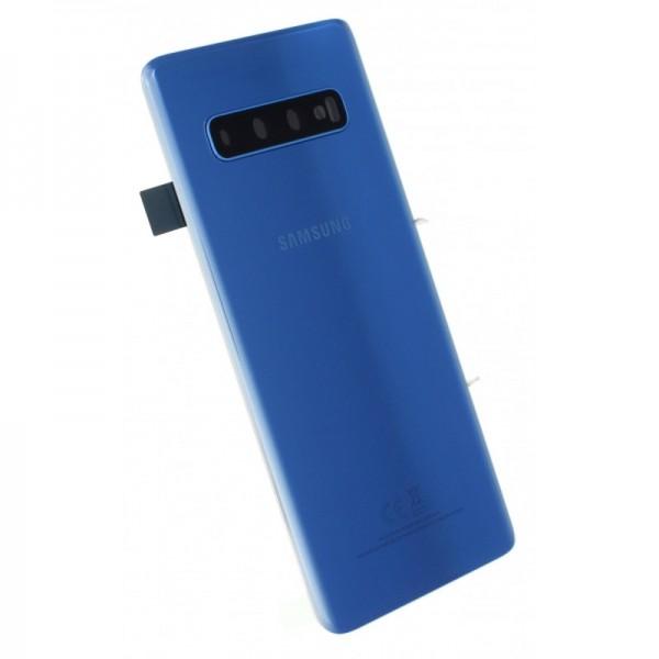 Poklopac baterije Samsung S10 G973 + lens kamere plavi (Prism Blue) 1. klasa