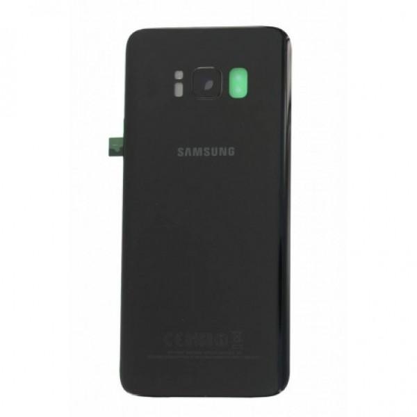 Poklopac baterije Samsung S8 G950 + lens kamere crni 1. klasa