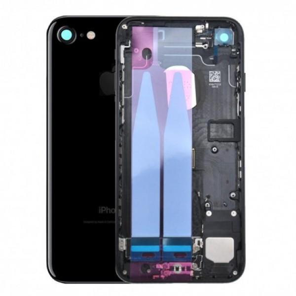 Stražnje kućište iPhone 7 Crno - sa unutrašnjim dijelovima
