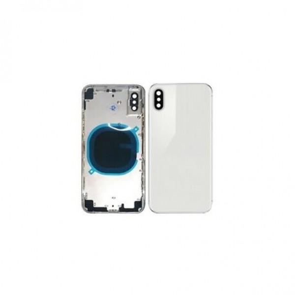 Stražnje kućište iPhone XS MAX Bijelo/Srebrno