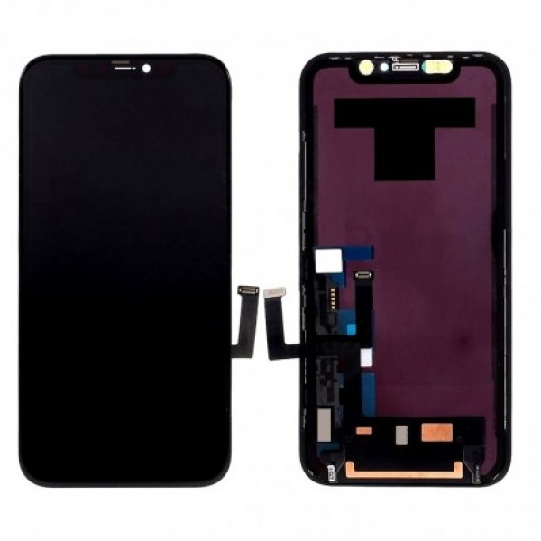 LCD Apple iPhone 11 + touch + okvir (OEM)