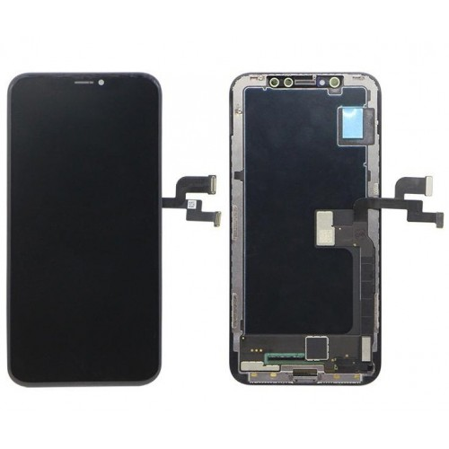 LCD Apple iPhone X + touch + okvir AAA