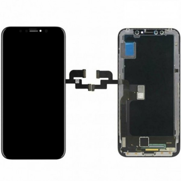 LCD Apple iPhone XS + touch + okvir (OEM)