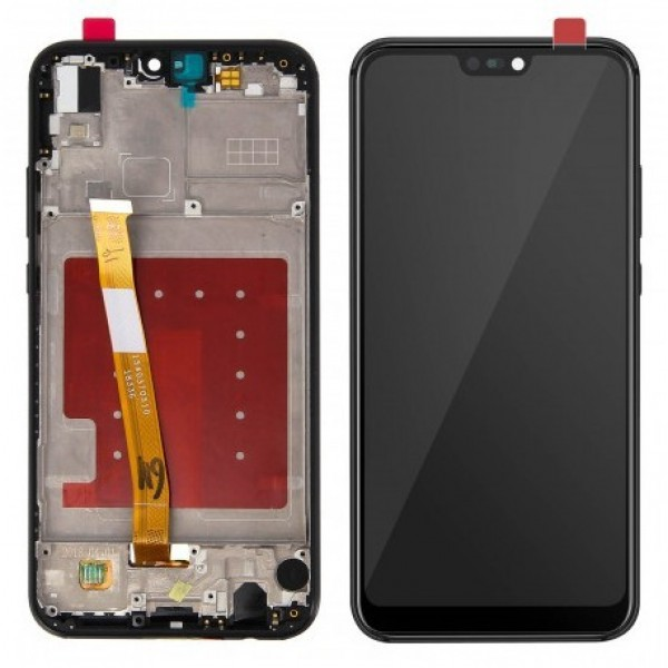 LCD Huawei P20 lite + touch + okvir (1.klasa)