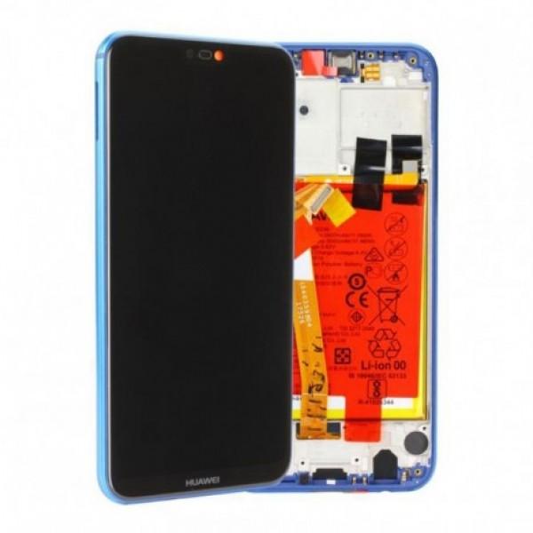 LCD Huawei P20 lite + touch + okvir + baterija (Original)