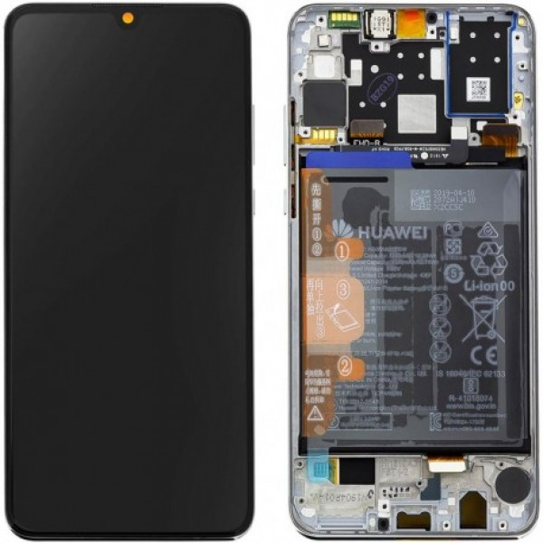 LCD Huawei P30 lite + touch + okvir + baterija (Original)