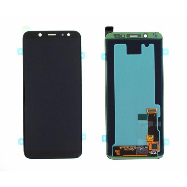 LCD Samsung A6 2018 A600F + touch crni original  EU
