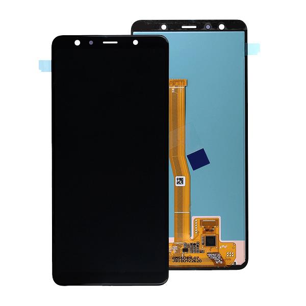 LCD Samsung A7 2018,A750F + touch + okvir ORIGINAL EU