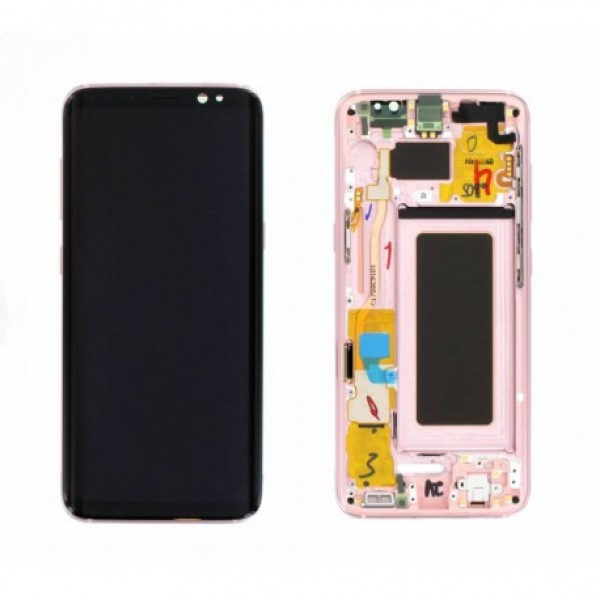 LCD Samsung S8,G950F + touch + okvir ORIGINAL EU