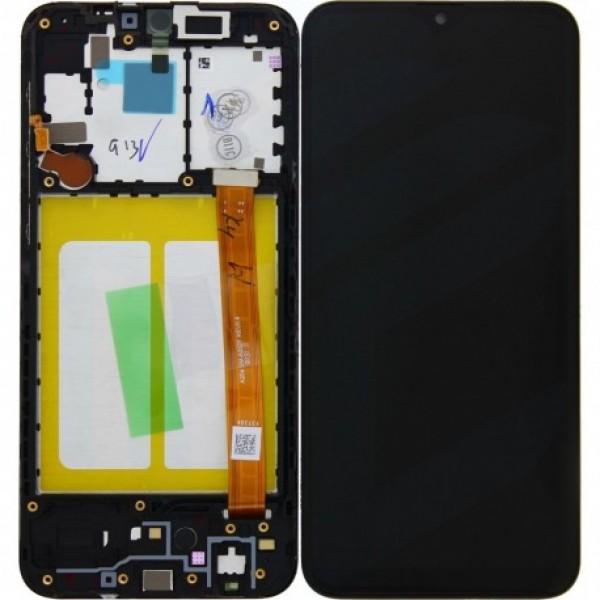LCD Samsung A207,A20S (2020) + touch + okvir crni original EU GH81-17774A