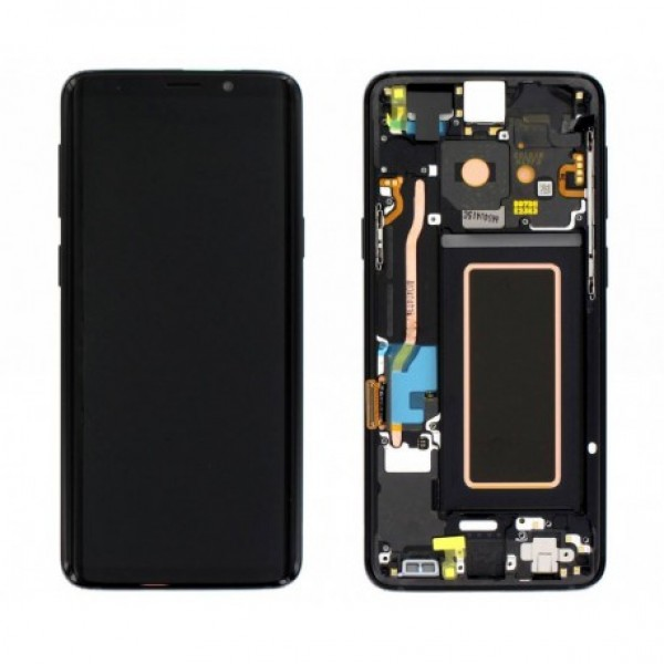 LCD Samsung S9,G960F + touch + okvir ORIGINAL EU