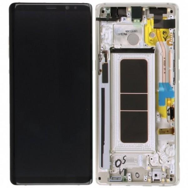 LCD Samsung NOTE 8 / N950 + touch + okvir original EU - Zlatni